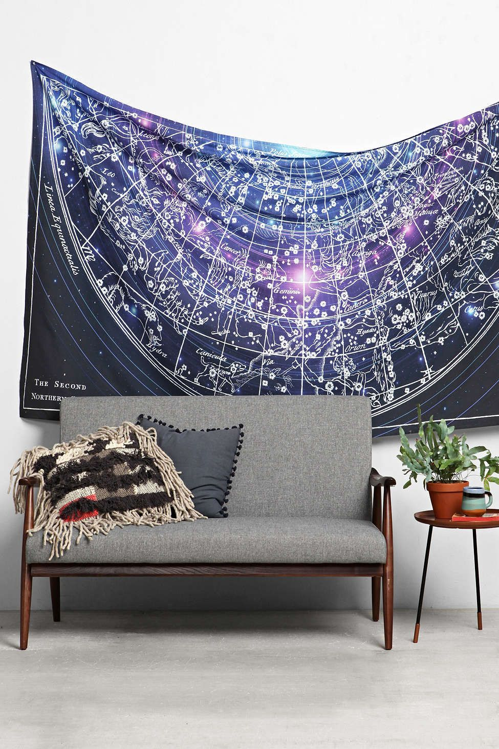Urban outfitters bedroom tapestry - Magical Thinking Cosmic Astrology Tapestry Urban Outfitters