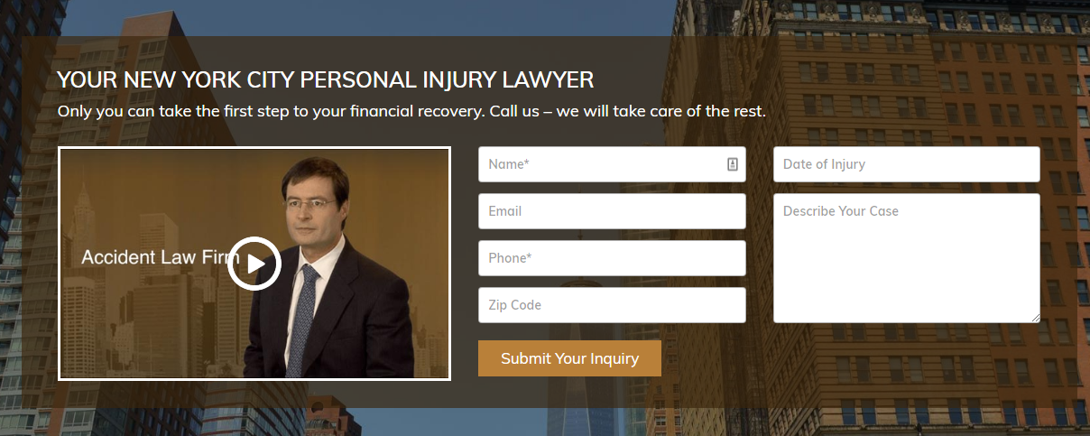 Personal Injury Attorney New York City Free Consultations With