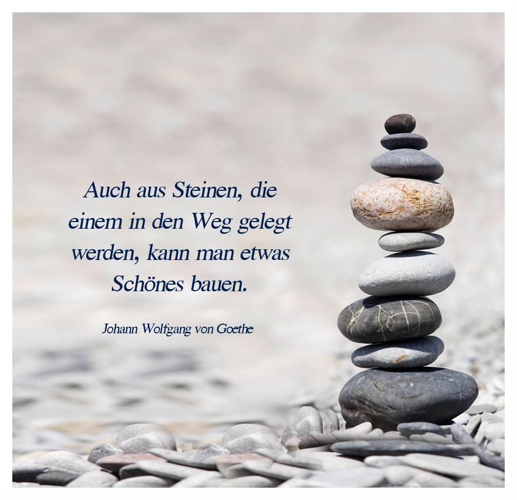 Spruch Steine