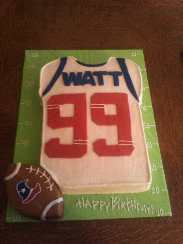 Texans Fan Birthday Cake Birthday Ideas Pinterest Texans