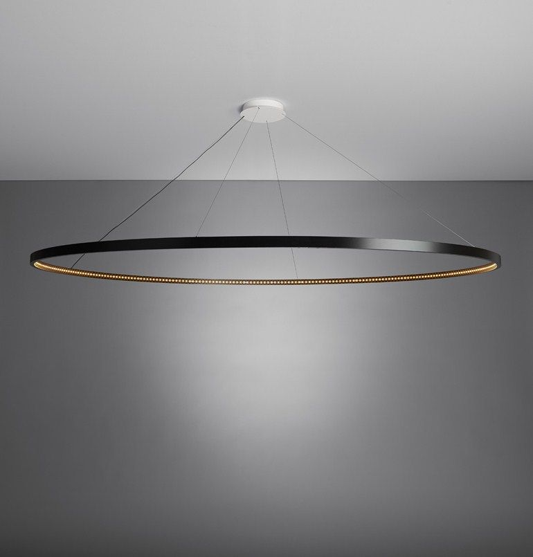 Led direct indirect light steel pendant lamp omega 200 le deun led direct indirect light steel pendant lamp omega 200 le deun luminaires aloadofball Image collections