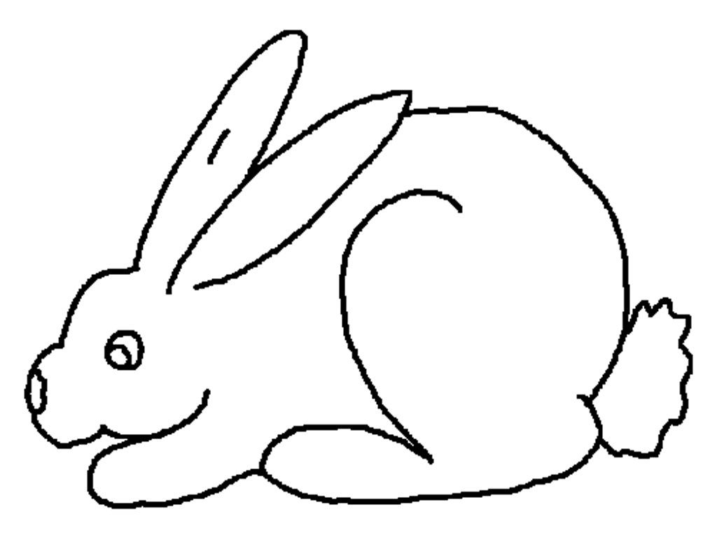 Download Free Rabbit Coloring Pages For Kids