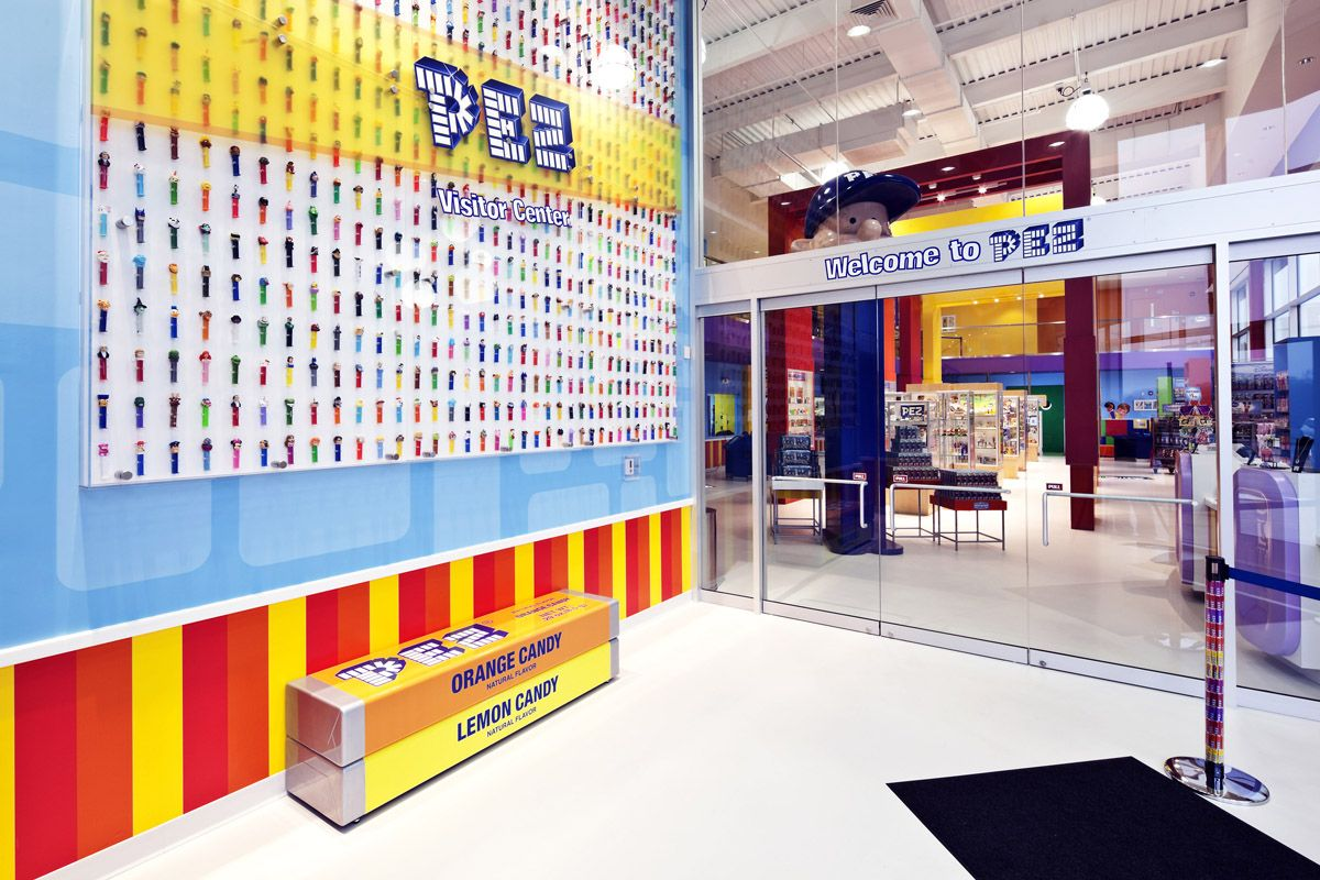 *PEZ Visitor Center (Orange, CT)*  The PEZ Visitor Center is a must-see! With over 4,000 square feet dedicated to all things PEZ, you can learn all about the history of this candy - introduced in 1927 (originally as an alternative to smoking!) - and how its reinvented itself overtime.