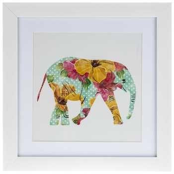 Guest Bedroom Wall Art (Hobby Lobby) - Floral Elephant Framed Art ...