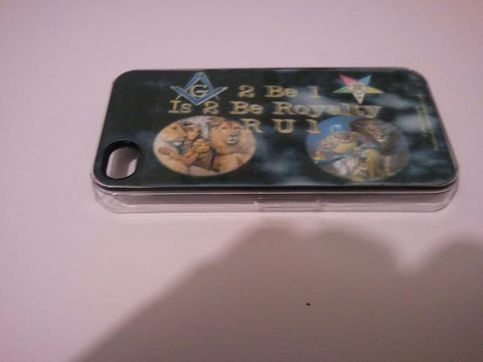$14.00 Personalized masonic Cases for 4G phones