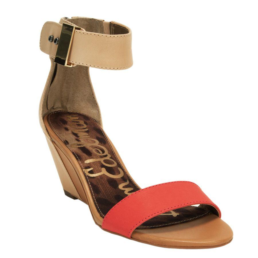 Block Wedge Sandal