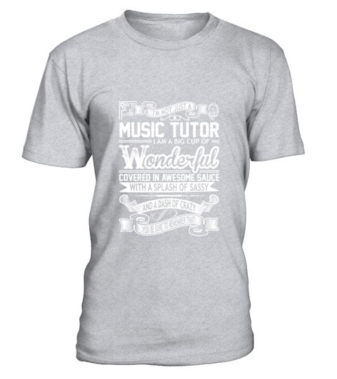 # Music Tutor Big Cup Wonderful Sauce Sassy Crazy T-Shirt .  Music Tutor Big Cup Wonderful Sauce Sassy Crazy T-Shirt  HOW TO ORDER: 1. Select the style and color you want: 2. Click Reserve it now 3. Select size and quantity 4. Enter shipping and billing information 5. Done! Simple as that! TIPS: Buy 2 or more to save shipping cost!  This is printable if you purchase only one piece. so dont worry, you will get yours.  Guaranteed safe and secure checkout via: Paypal | VISA | MASTERCARD