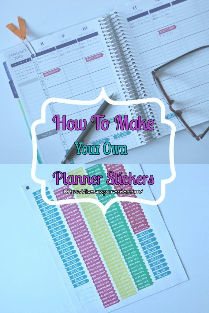 how to make personalized planner stickers planner stickers