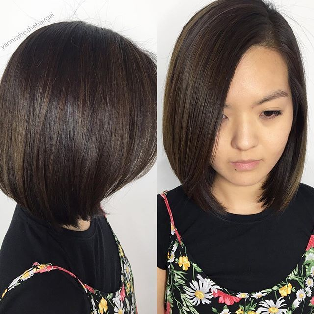 #Coolbrown #balayage #ombre and a structure #bob on my future #soju bud!! 😎 #educesalon #bestoforlando #mills #downtownorlando #orlandohair #orlandohairstylist #hairoftheday #picoftheday #asianhair #lorealprous #americansalon #modernsalon #behindthechair #arrojonyc #yanniwhothehairgal