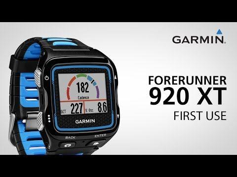 Garmin Forerunner 920XT Tutorial Videos Garmin