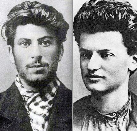 leon trotsky relationship with joseph stalin young