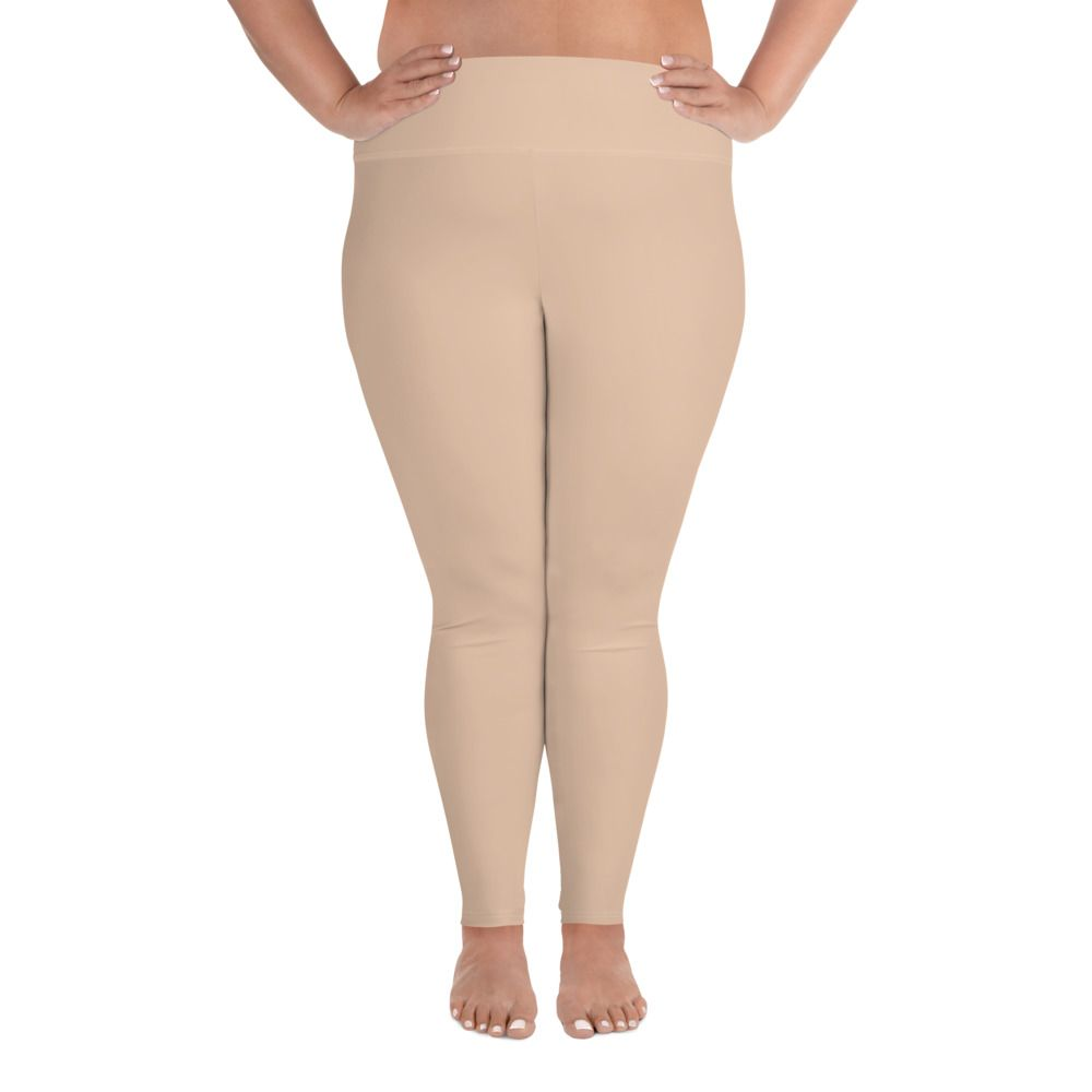 Photo of Women Skintone Plus-size Leggings – E7C5AC