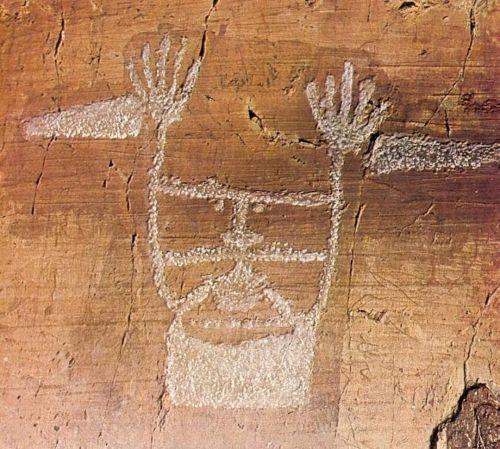 Le sorcier, gravure de l'age du bronze. La Vallée des Merveilles. Provence-Alpes-Côte d'Azur   Vallée des merveilles, Âge du bronze, Gravures rupestres