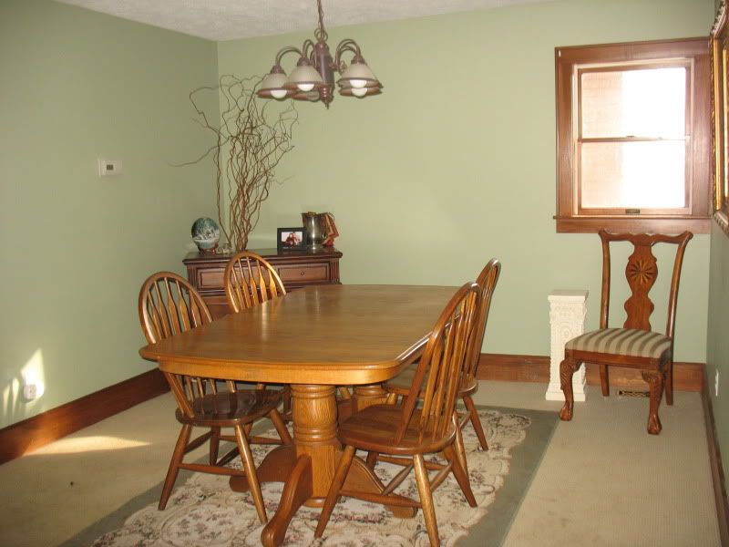 Nbr what color is your living room clary sage for Dining room kitchen colors