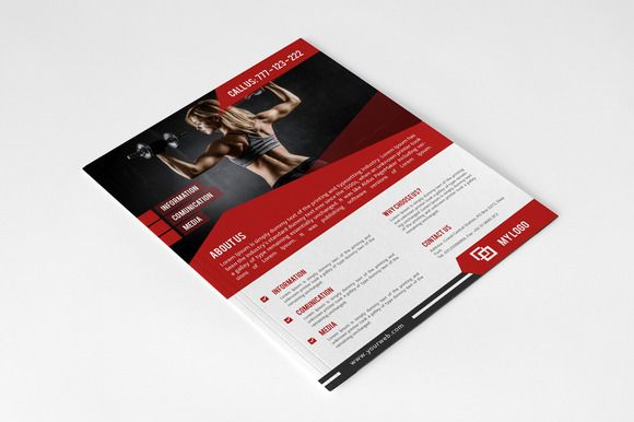Corporate Business Flyer By Nasirgrfx On Creative Market