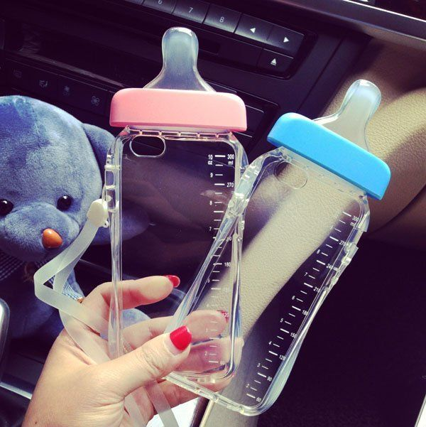 Fancy | Baby Bottle iPhone Cases