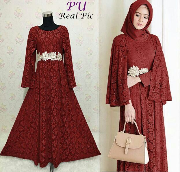 Pin Di Baju Muslim