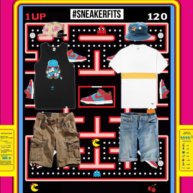 """the latest 9d8f1 fc79d ... SneakerFits  What To Wear With The Nike SB Dunk Low """"Ms. Pac-Man"""" ..."""