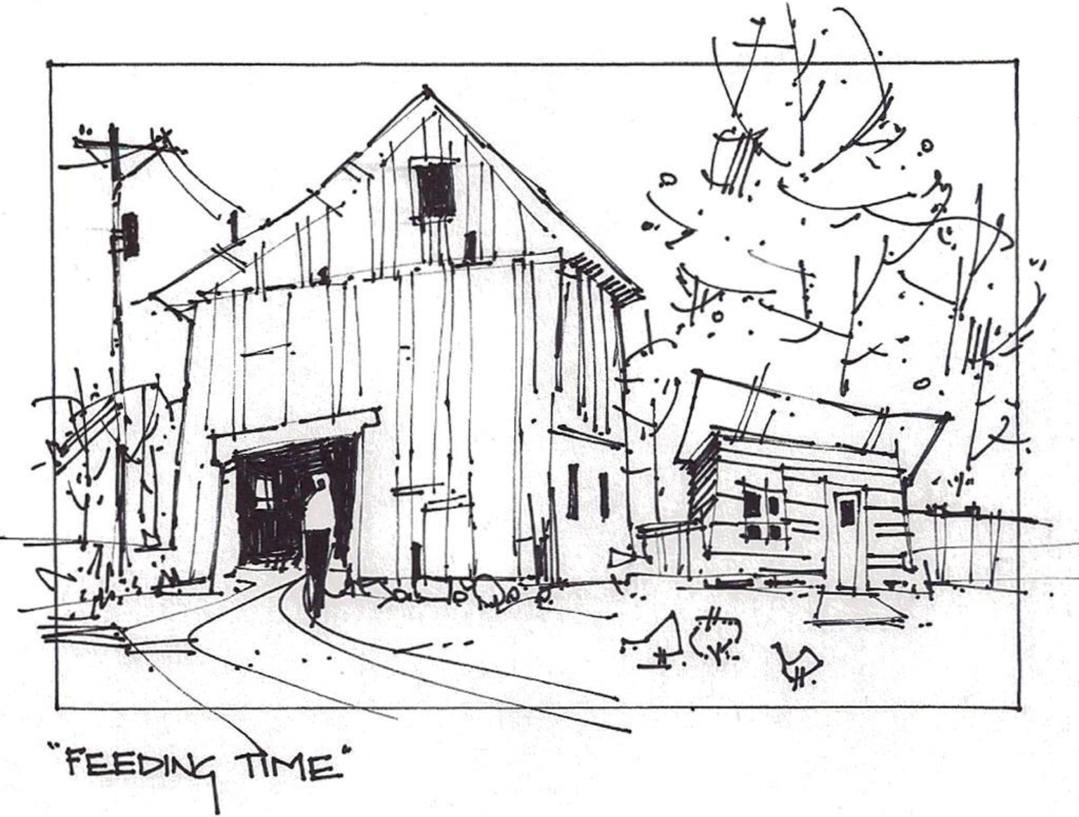 Pin By Tony Zarak On Urban Sketching