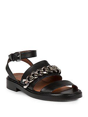 En Busca De Salida Venta Barata Con Tarjeta De Crédito Chain Detail Sandals qm24w