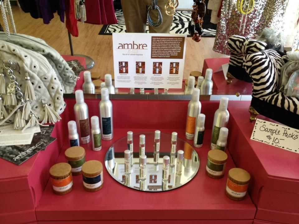 Ambre- love this natural oil perfume... and better yet- they are located in Indy