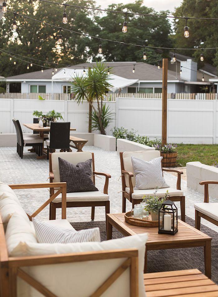 Backyard Makeover Reveal: Riverside Retreat | Outdoor ... on Riverside Outdoor Living id=29583