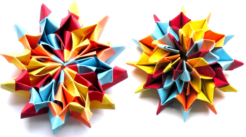 Modulares Origami - Fireworks (Yami Yamauchi)