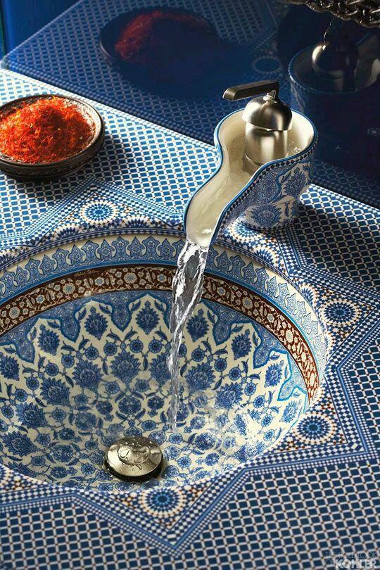 Vasque d\'inspiration orientale | Home | Idée salle de bain ...