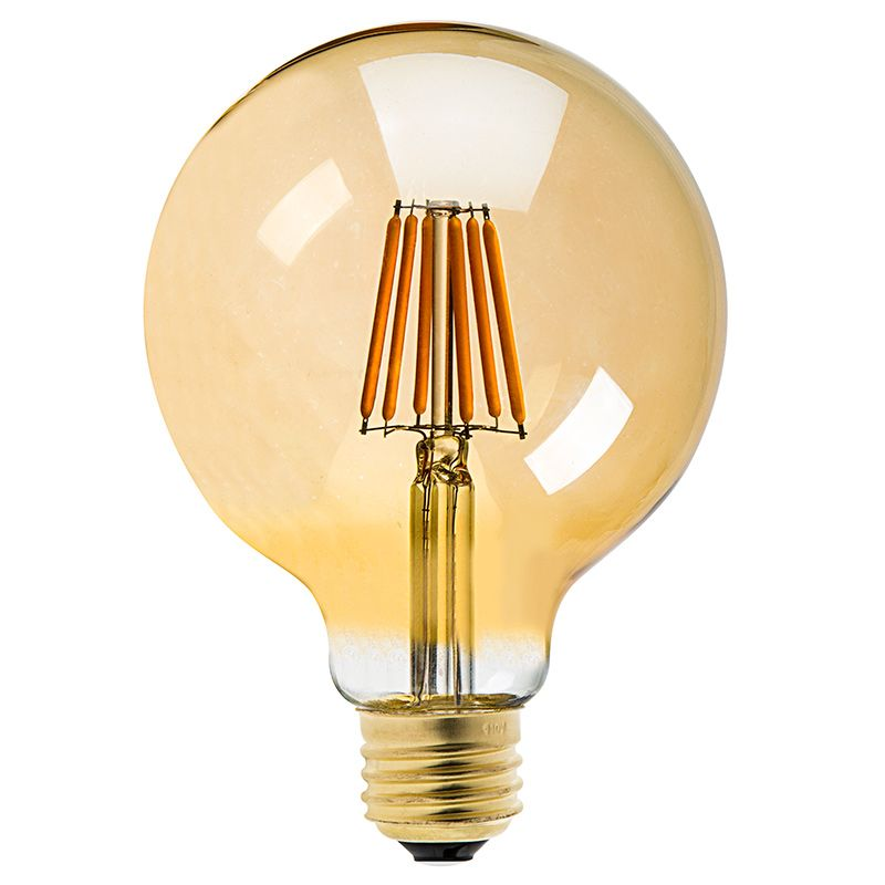 G30 Led Vanity Bulb Gold Tint Led Filament Bulb 40w Equivalent Dimmable 250 Lumens Vintage Light Bulbs Bulb Led Vanity