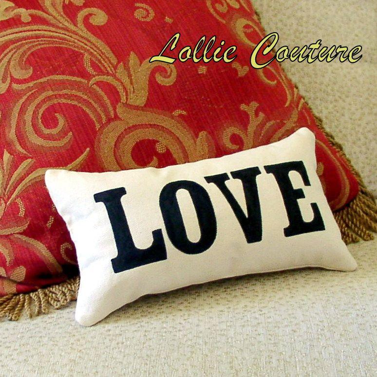 Love Pillow - Valentine Pillow - Valentine Gift