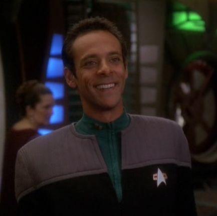 science uniform 2370s DS9 Interests Star Trek Pinterest - dr bashir i presume