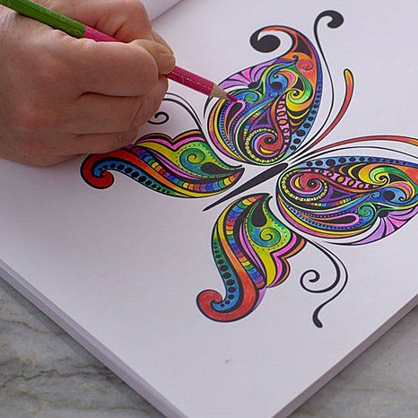Colorama Coloring Book Pages Colored In