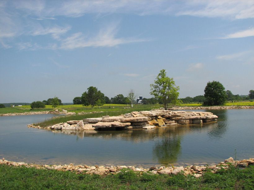 1 acre pond google search for the home pinterest for Garden design 1 2 acre