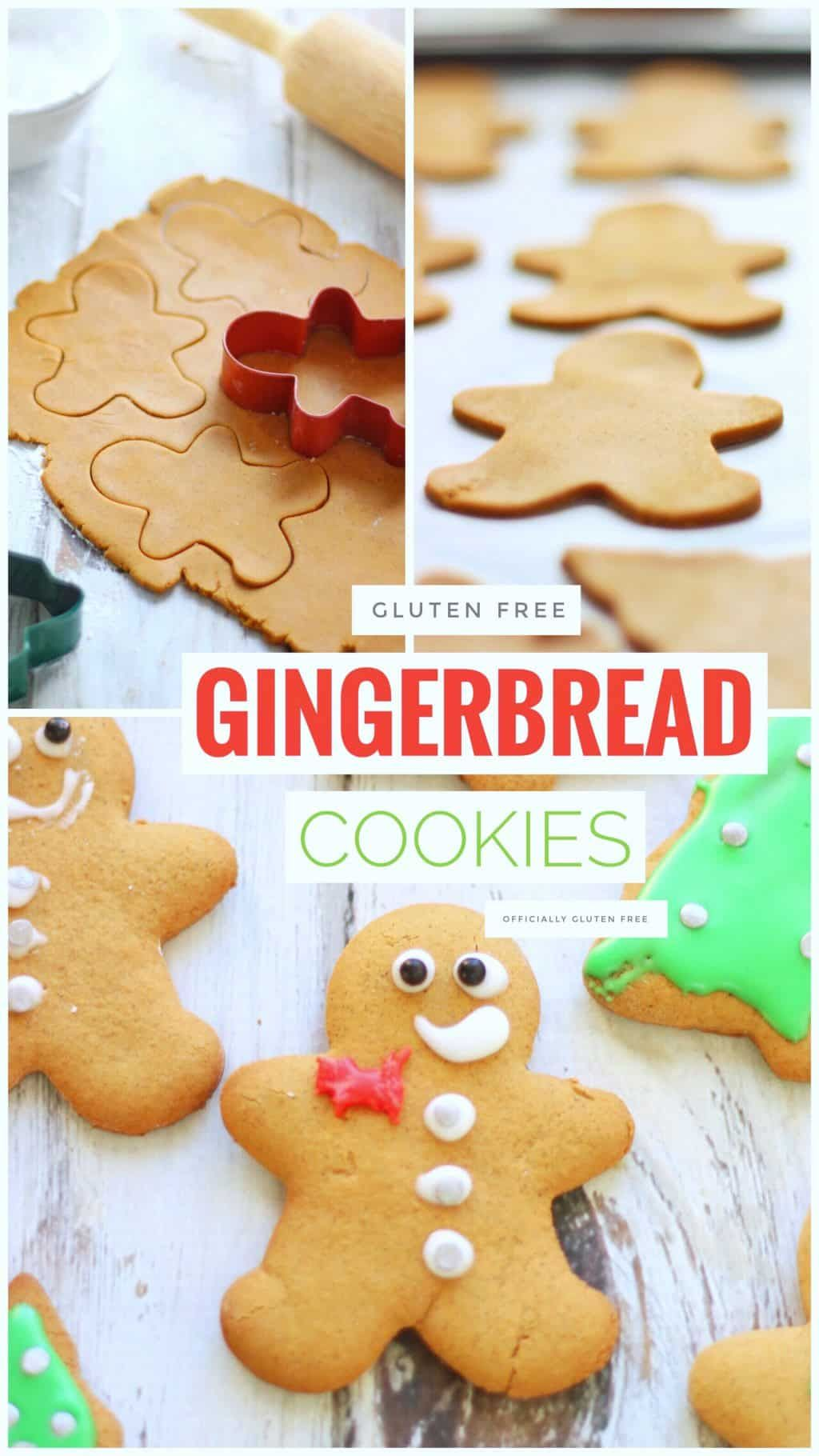 Gluten Free Gingerbread Cookies | Soft Gingerbread Cookie Recipe