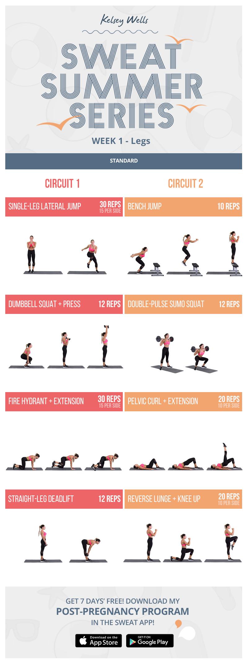 PWR Legs Workout Sweat workout, Kayla workout, Kayla