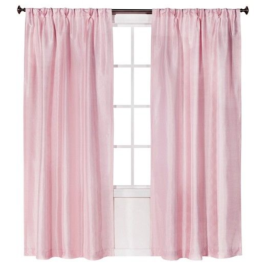 Add Sophisticated Style To Your Space With This Faux Silk Pleat Curtain Panel From Simply Shabby