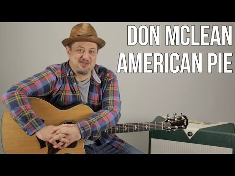 how to play american pie by don mclean on acoustic guitar easy songs youtube guitar. Black Bedroom Furniture Sets. Home Design Ideas