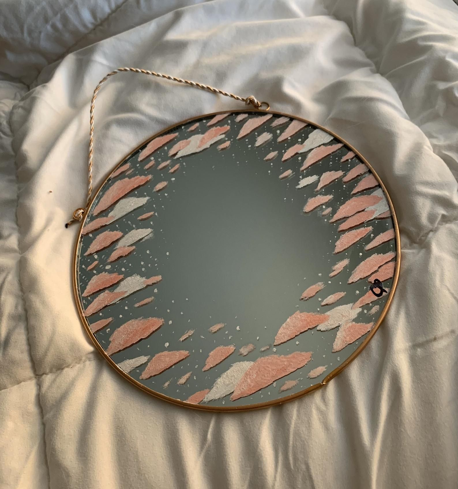Blush Cloud Mirror Etsy in 2020 (With images) Mirror