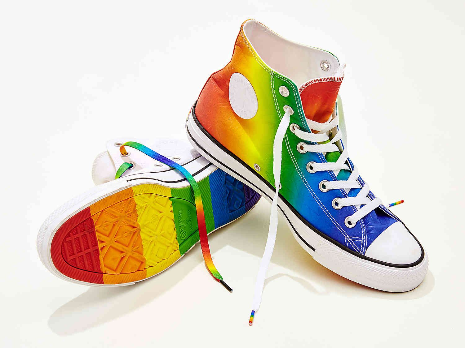 Converse Chuck Taylor All Star Pride High-Top Sneaker - Womens Women s Shoes   8bd164195