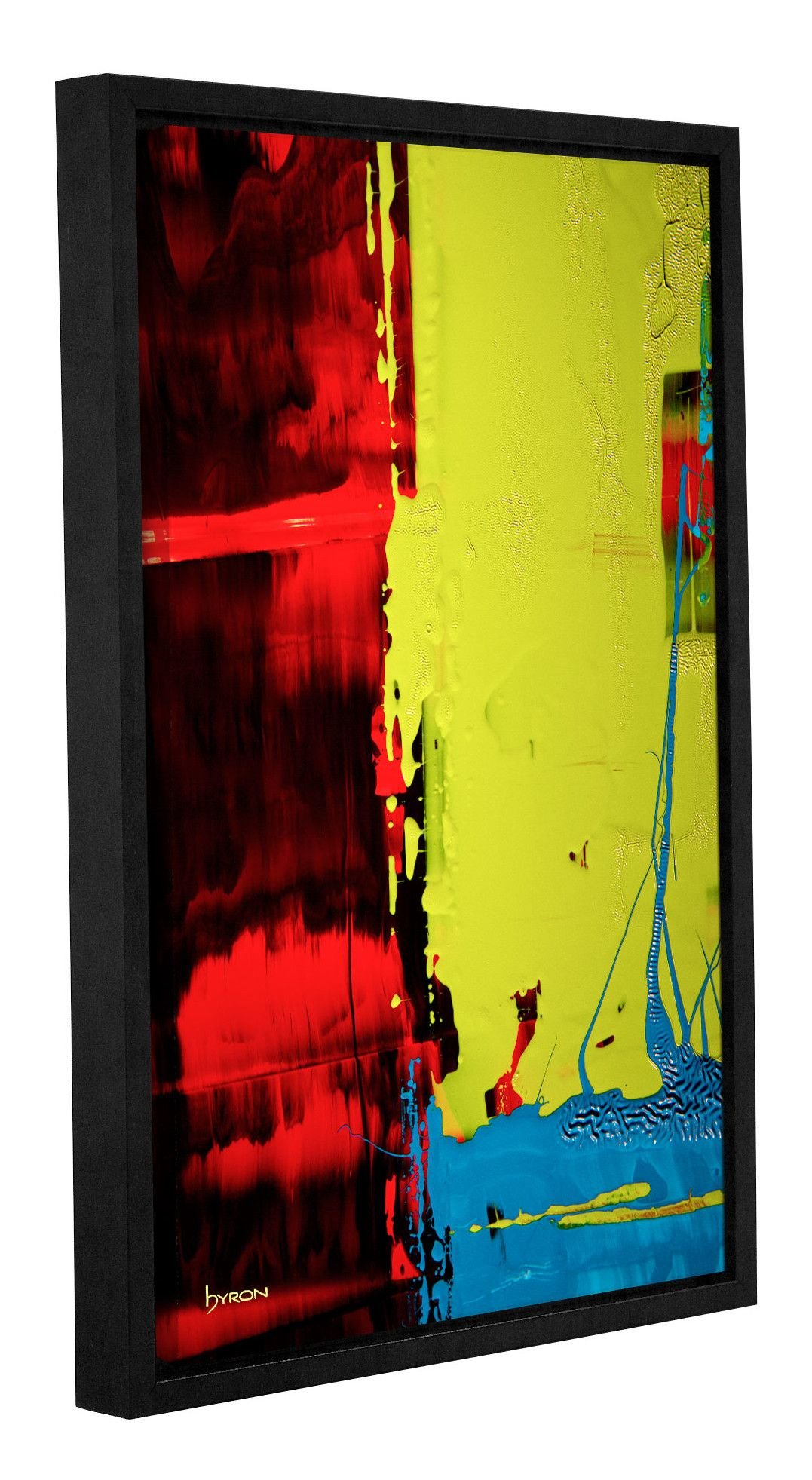 Turbulent Times\' by Byron May Framed Painting Print on Wrapped ...