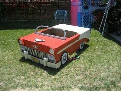 Cardboard Cadillac. I'm doing THE BAT MOBILE