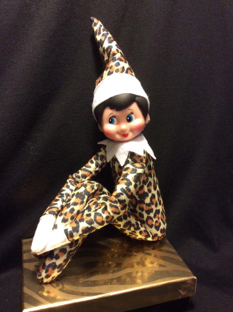 Elf On The Shelf Rare Leopard Girl Doll Elf Elves, Girl