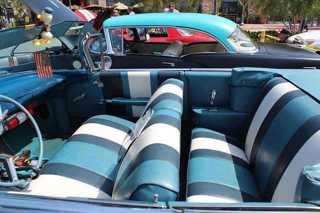 Classic Car Interior With Images Classic Cars Automotive