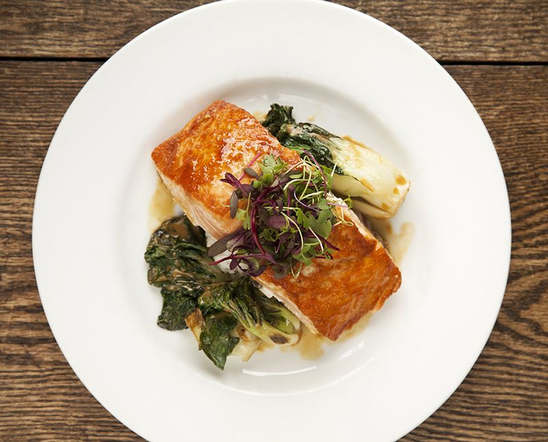 What A Gorgeous Salmon Dish Prepared By Willowdale Kitchens On Site Catering For Wedding