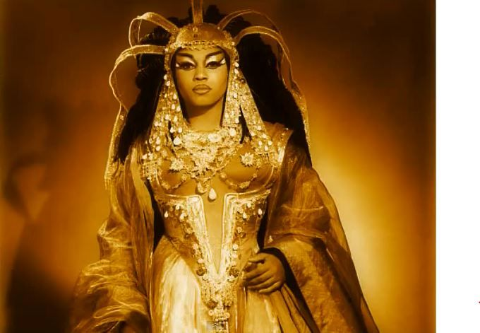 """Leontyne Price as Cleopatra in Barber's """"Antony and Cleopatra at the Met  'Date and photographer unknown"""