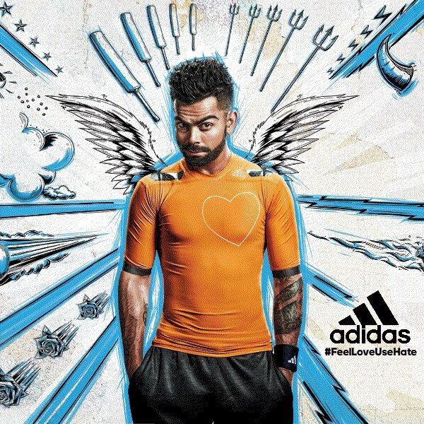 Adidas Featuring Virat Kohli In Their New Ad Campaign