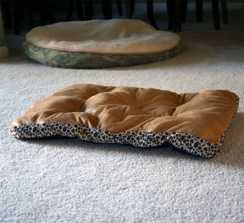 Giving your pet a good nap takes more than just a pat and a