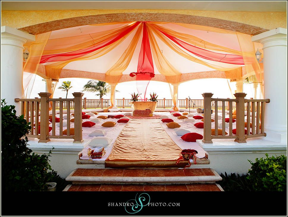 Outdoor sikh wedding #indian #cancun #beach | Weddings ...