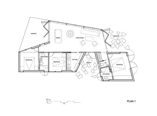 Gallery Of House Plans Under 100 Square Meters 30 Useful
