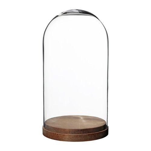 h rliga campana base vdr vidrio incoloro 27 cm compras casa ikea decoraci n hogar y hogar. Black Bedroom Furniture Sets. Home Design Ideas